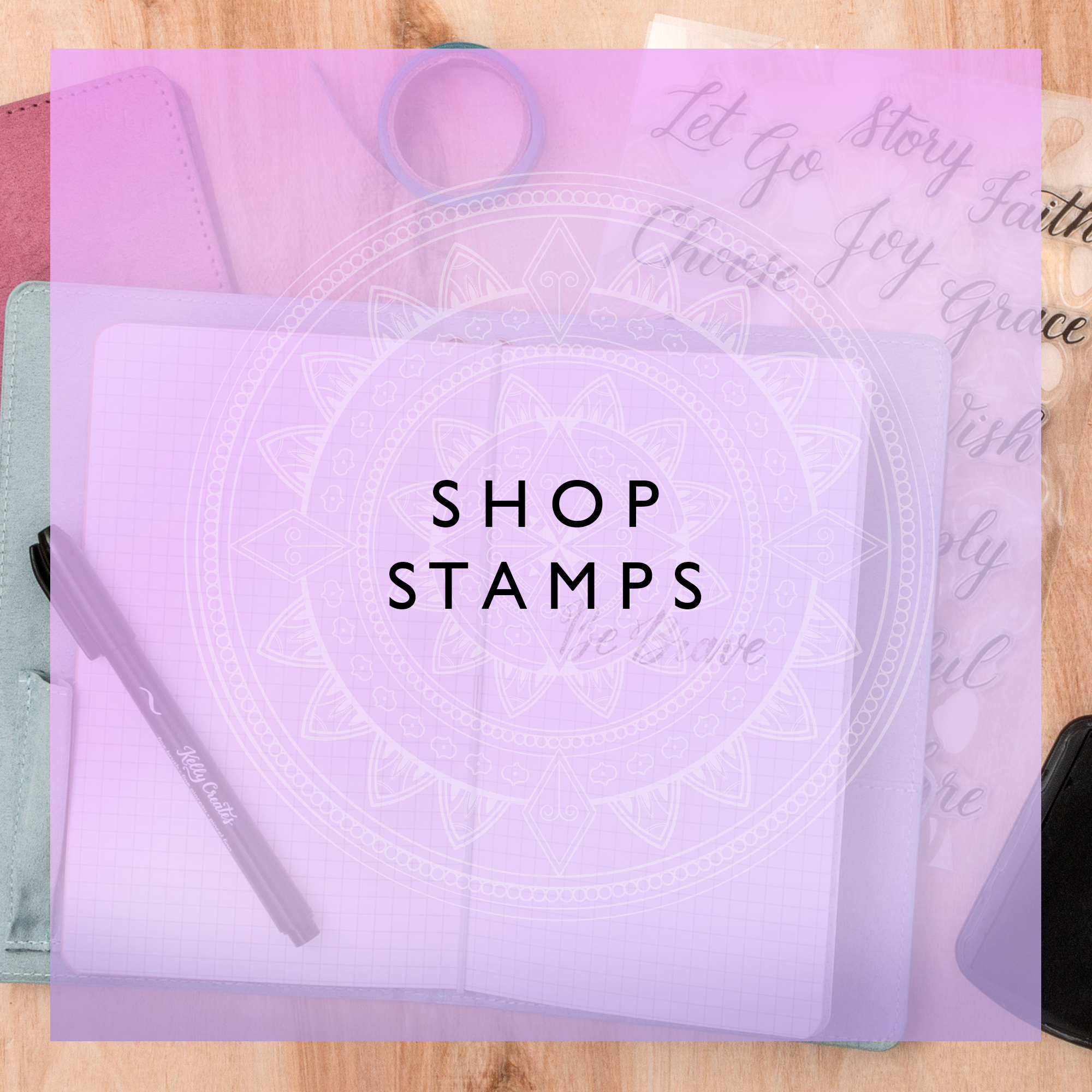 SHOP STAMPS GRAPHIC